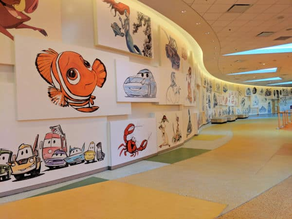 Lobby at Art of Animation Resort - Disney Value Resort