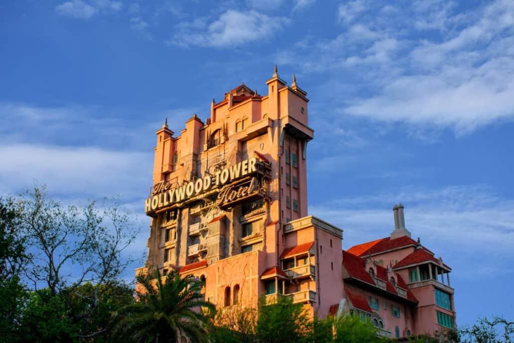 Tower of Terror at Hollywood Studios Orlando