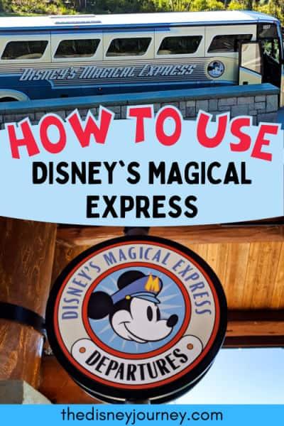 Disney magical express pin image