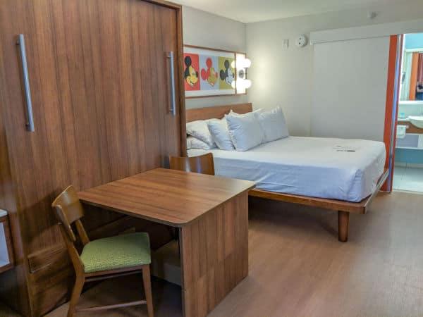 Room at Disney's Pop Century Resort - Disney resort category: value resort