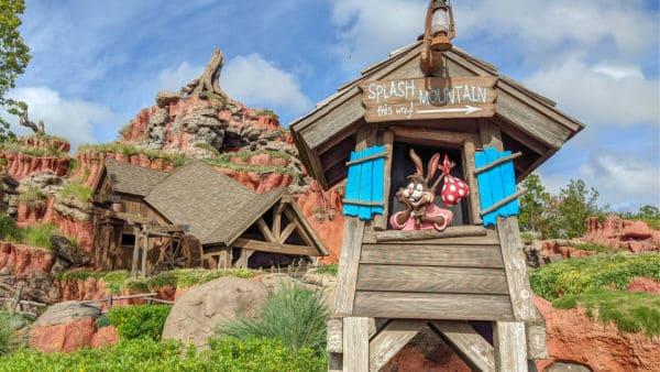 Splash Mountain Entrance at Magic Kingdom
