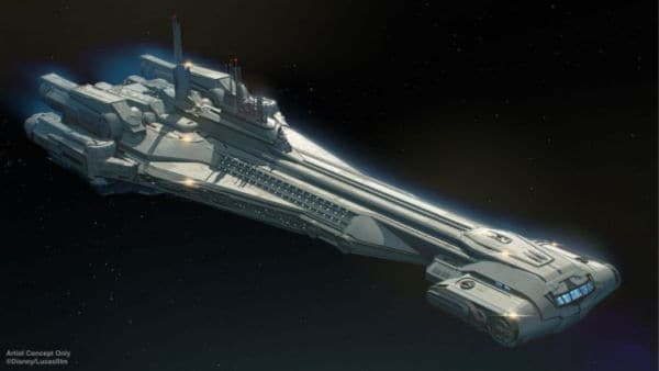 Image of Halcyon, Star Wars Galactic Starcruiser