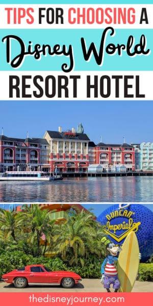 How to Choose a Disney resort pin image