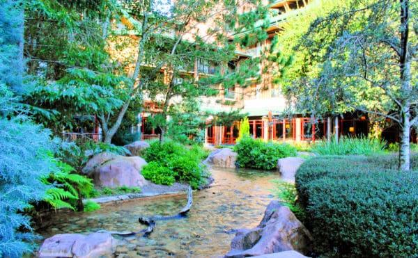 Wilderness Lodge resort at Disney World