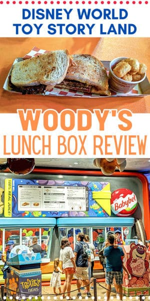 Woody's Lunch Box pin image