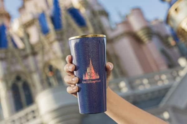 Disney World 50th anniversary insulated mug