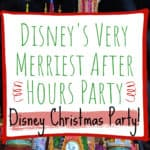 Disney Very Merriest Pin Image