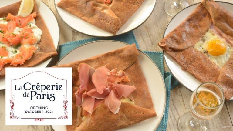 La Creperie de Paris opening announcement image